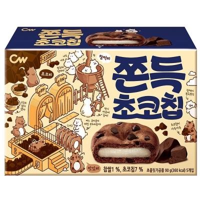 韓國朱古力年糕曲奇5