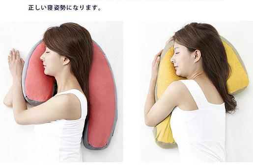 4_日本 Sleep Vantage 横向安眠抱枕-粉色 (4)