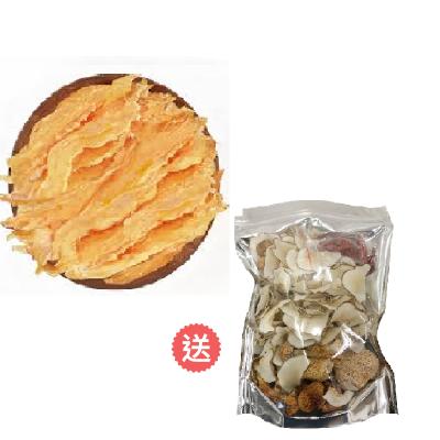 鱈魚膠送猴頭菇海底椰湯包