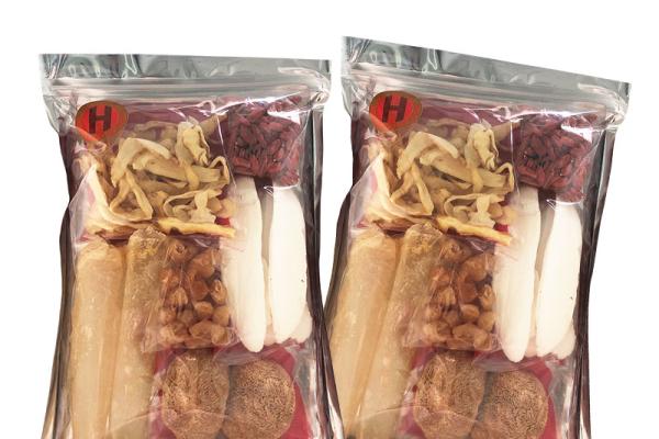 猴頭菇淮山杞子花膠湯包,優惠價$138買一送一,限購:30set