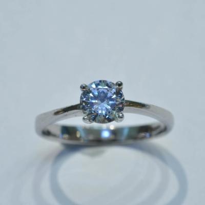 瑞士八心八箭水晶戒指 (3)