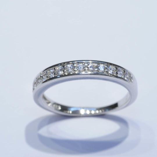瑞士八心八箭水晶戒指
