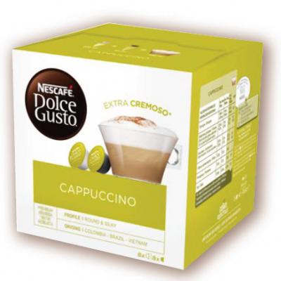 卡布奇諾咖啡膠囊
