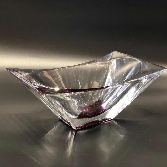 BOHEMIA Crystal 捷克進口水晶果盤1