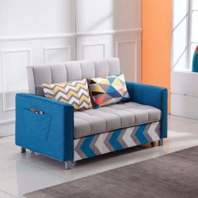 梳化床(藍灰色)原價 3180。現價 2380