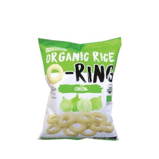 有機香糙米烘焙脆米小食