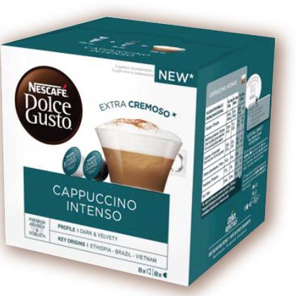 雀巢濃縮卡布奇諾咖啡膠囊