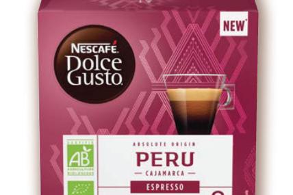 雀巢濃縮咖啡- 秘魯單品咖啡膠囊