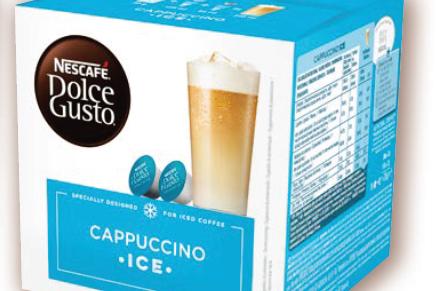 冰卡布奇諾咖啡膠囊