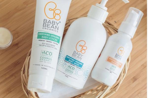 澳洲Baby Bean Organics有機認証嬰兒護膚品任何兩件