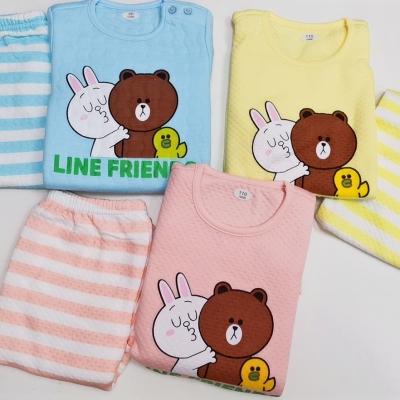 韓國line friend 空氣棉套裝