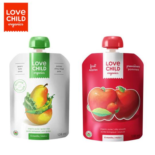 6.加拿大Love Child Organics純水果果泥