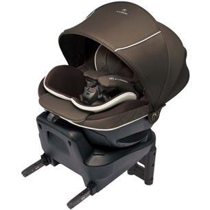 日本Ailebebe 6i Grance 汽車安全座椅(啡)