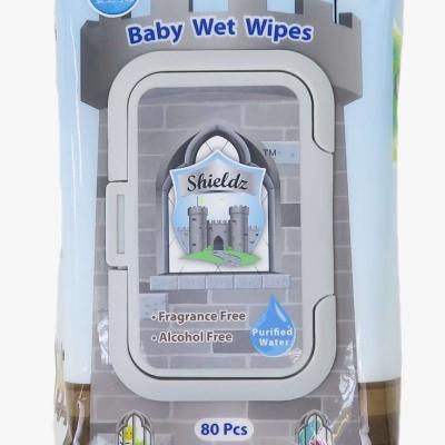 Shieldz純水嬰兒濕紙巾80片裝