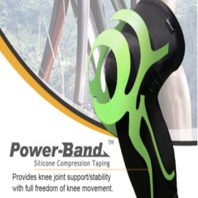 BodyVine PowerBand Ultrathin knee Stabilizer Plus