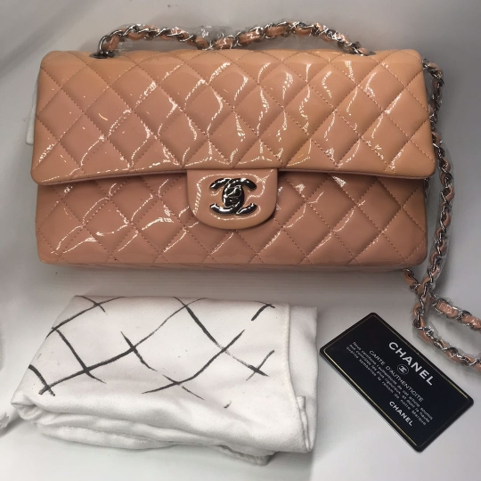 Baby pink Timeless Classic Chanel bag $29900 (1)