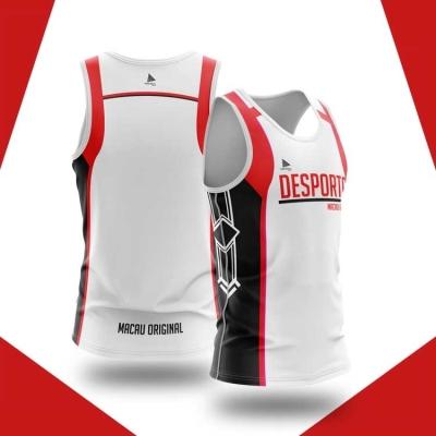 原創超輕身跑步 衫—Desporto Vol.2 (White)