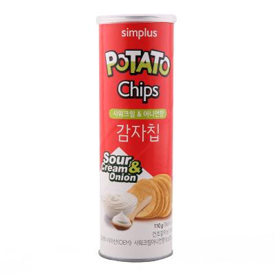 韓國Simplus薯片 110g