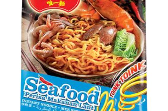 海鮮味快熟麵