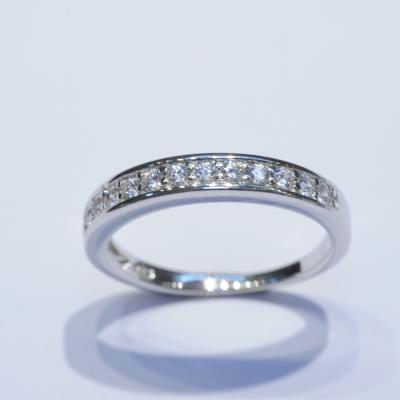 瑞士八心八箭水晶戒指 (3) $400