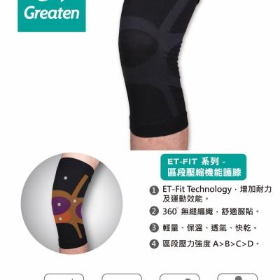 區段機能護膝