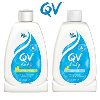 3.Ego意高 QV 嬰兒二合一洗髮沐浴露沐浴油250ml