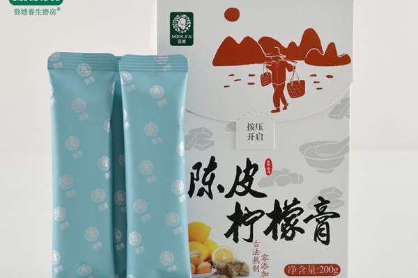 陳皮檸檬膏