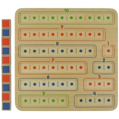 1-10木製學習板