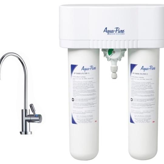 3M專業型濾水器 AP-DWS1000(含3M LED飲水龍頭)