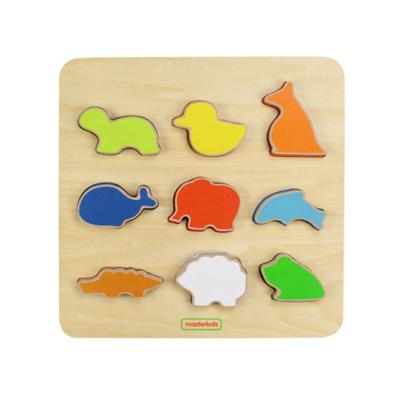 動物木製學習板