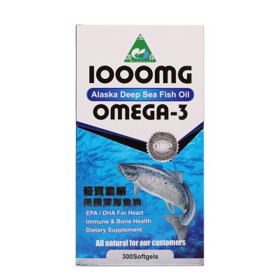 生命源美國優質濃縮深海魚油1000mg