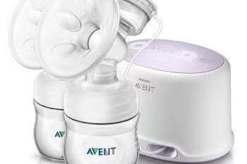 AVENT雙邊邊電動吸奶器,原價$3299,5折優惠價$1649