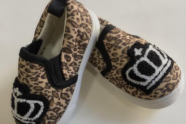 Baby doll豹紋鞋 (1415cm)