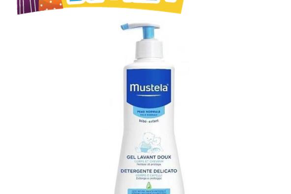 mustela洗頭沐浴啫喱500ml