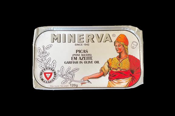 Minerva 橄欖油鮯針魚