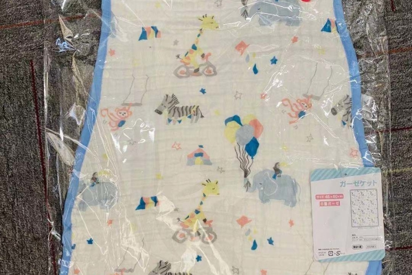 日本製六層紗睡袋