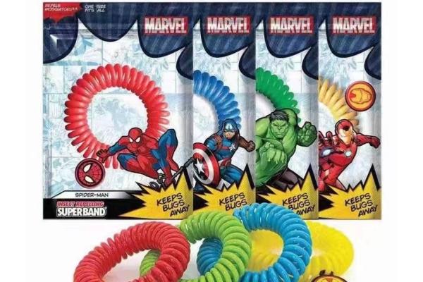 Marvel 系列防蚊帶