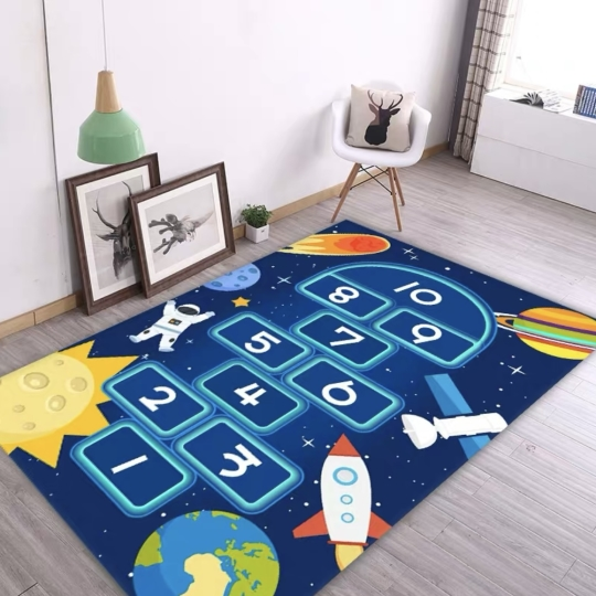 小朋友學習地毯
