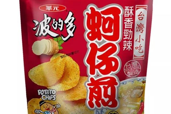 波的多洋芋片-香辣蚵仔煎口味
