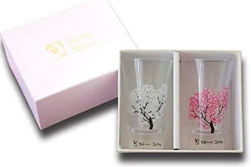 日本製櫻花變色小酒杯(一對)3