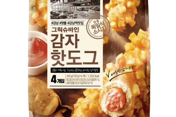 脆薯粒熱狗