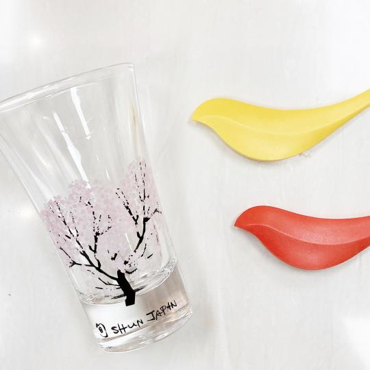 日本製櫻花變色小酒杯(一對)1