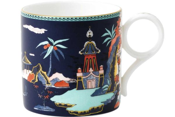 Wonderlust Mug Blue Pagoda LS